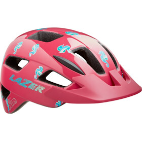 Lazer Lil Gekko Helmet with Insect Net Kids pink sea pony